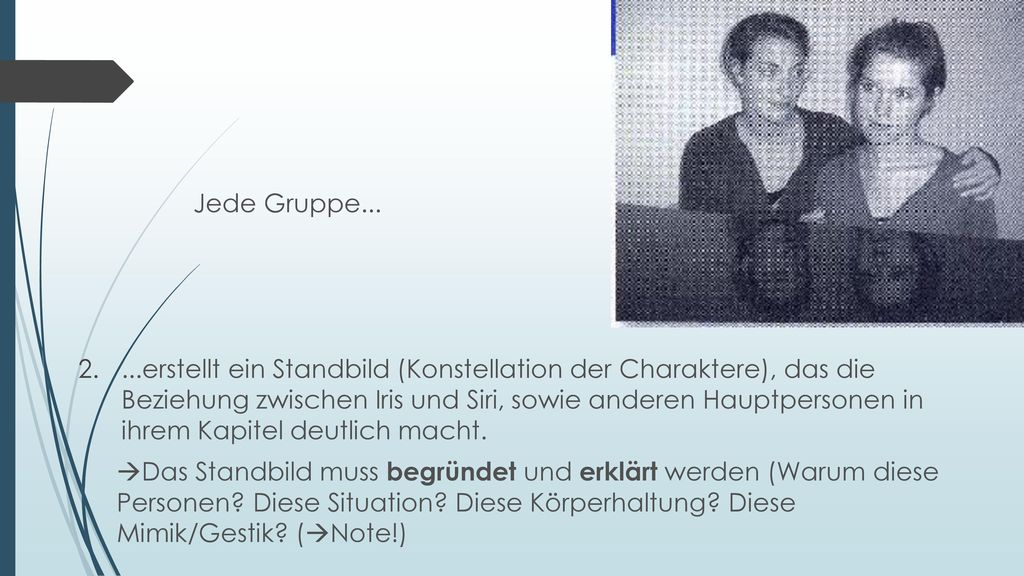 Jede Gruppe...