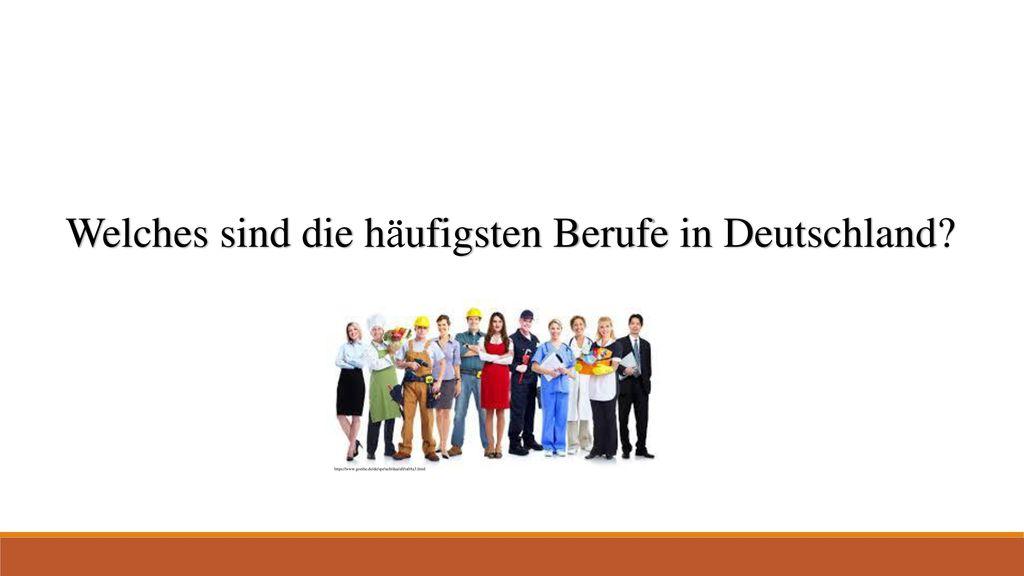 Welches sind die häufigsten Berufe in Deutschland