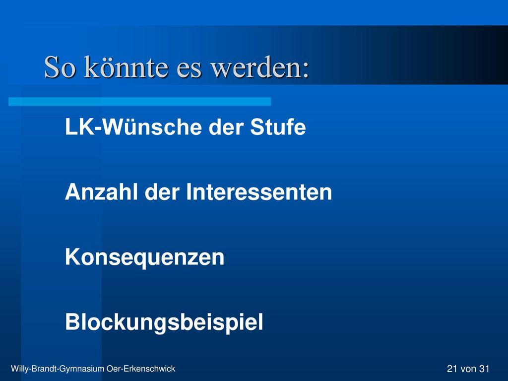 Willy-Brandt-Gymnasium Oer-Erkenschwick