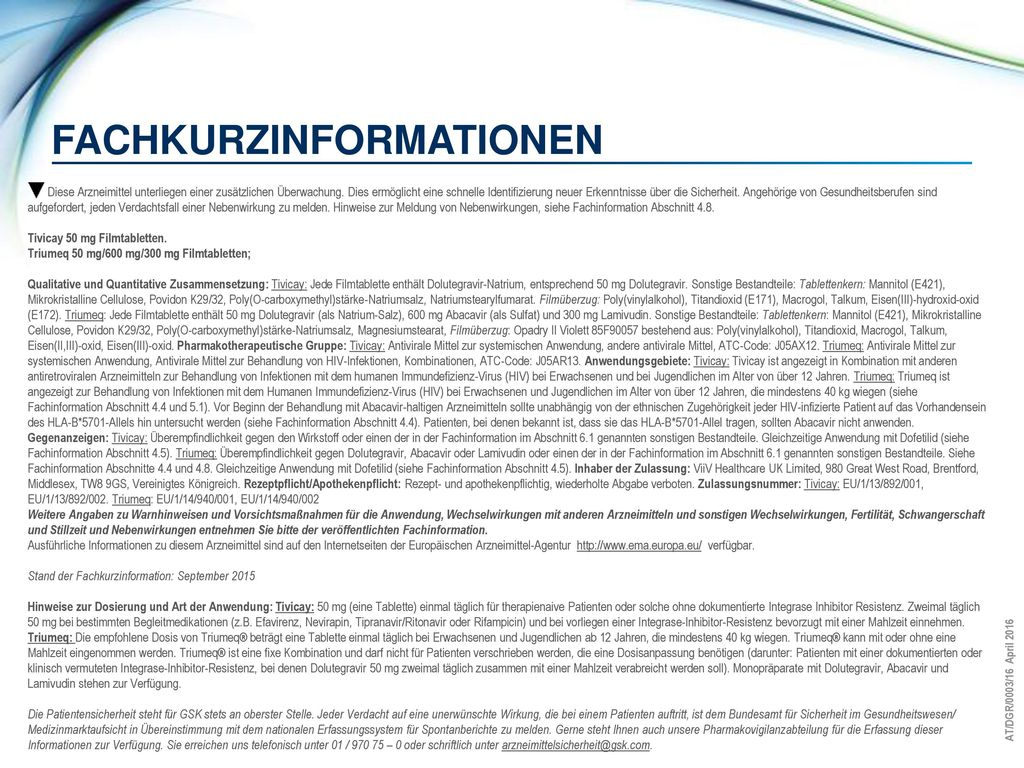 Fachkurzinformationen