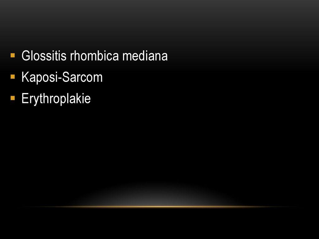 Glossitis rhombica mediana