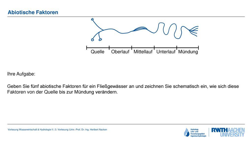 Vorlesung Wasserwirtschaft & Hydrologie II - ppt video online ...