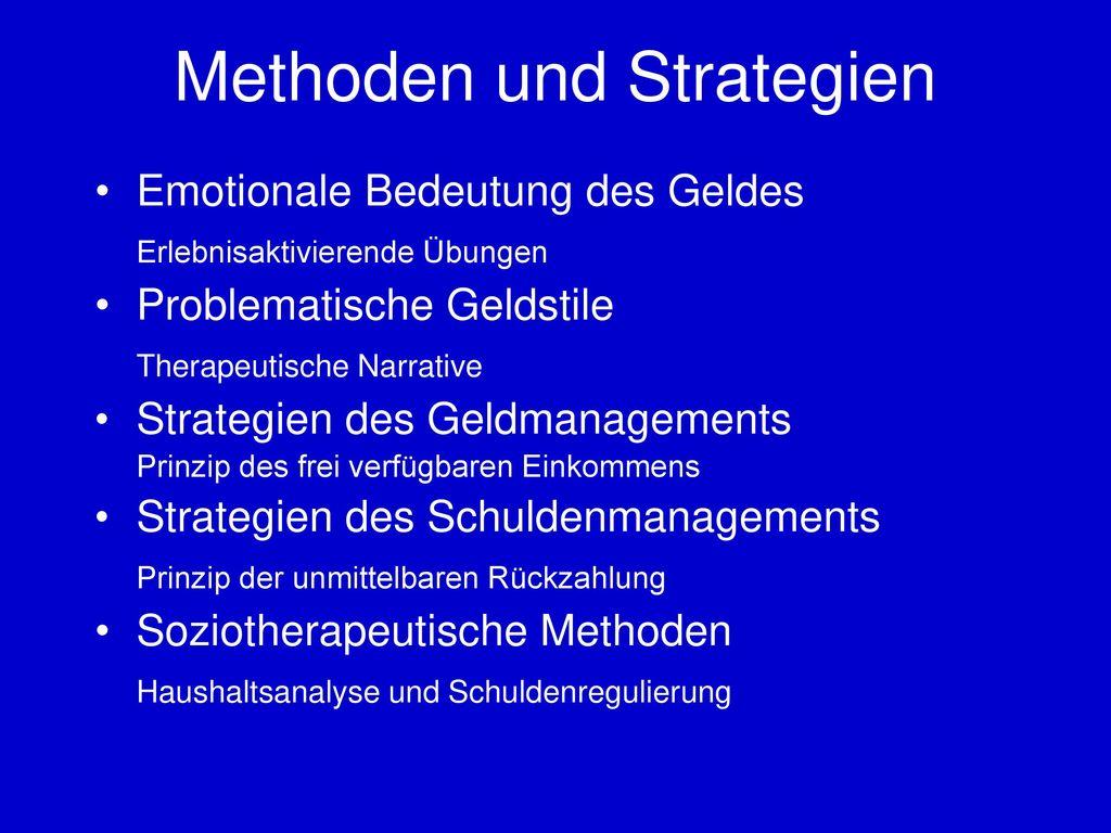 Methoden und Strategien