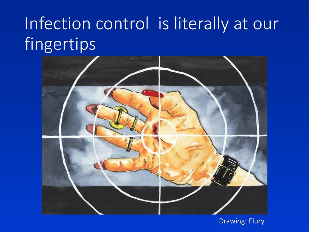 Infection control is literally at our fingertips
