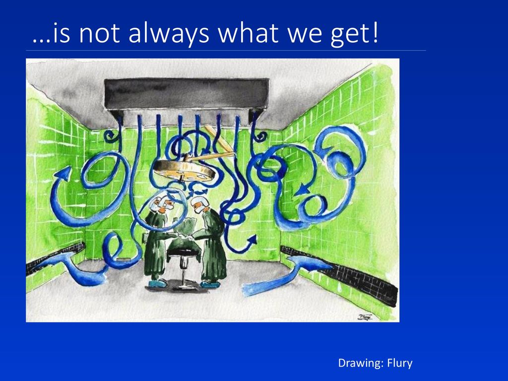 …is not always what we get!