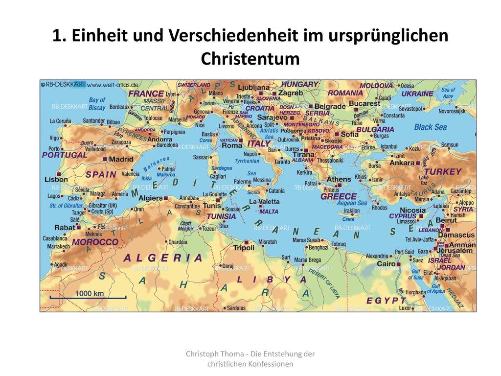 1. Einheit und Verschiedenheit im ursprünglichen Christentum