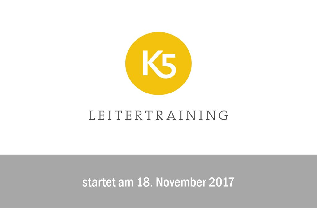 startet am 18. November 2017