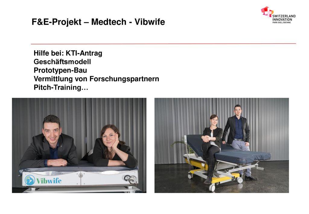 F&E-Projekt – Medtech - Vibwife