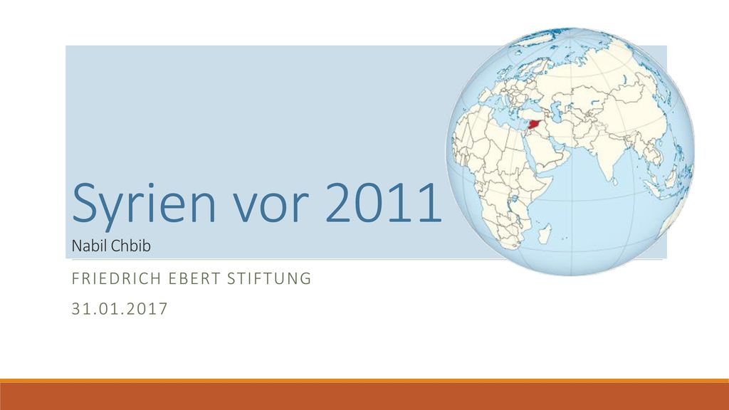 Friedrich Ebert Stiftung 31.01.2017