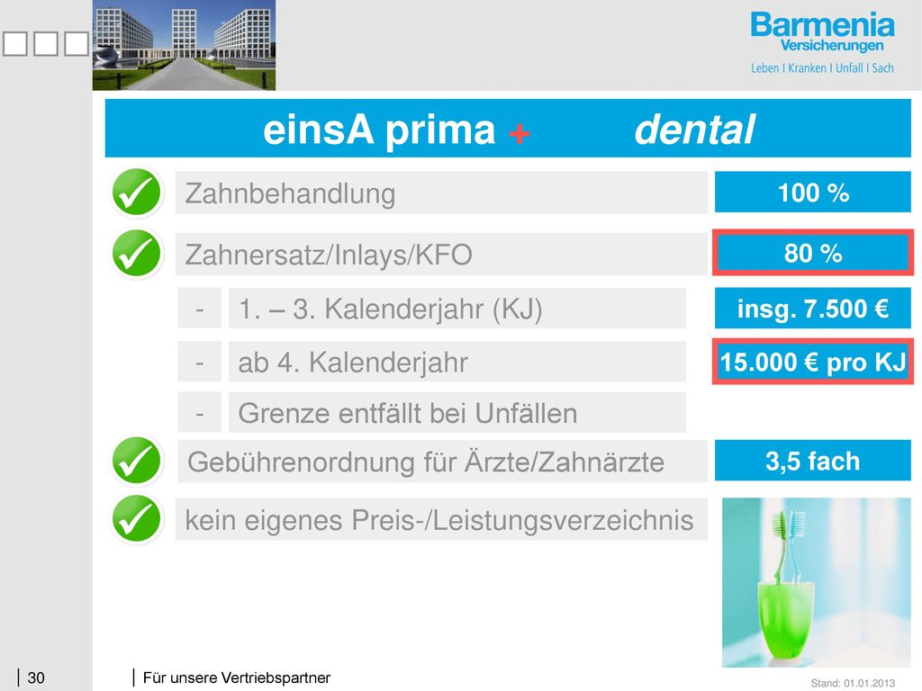einsA prima + dental einsA prima dental