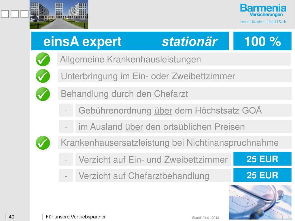 einsA expert stationär