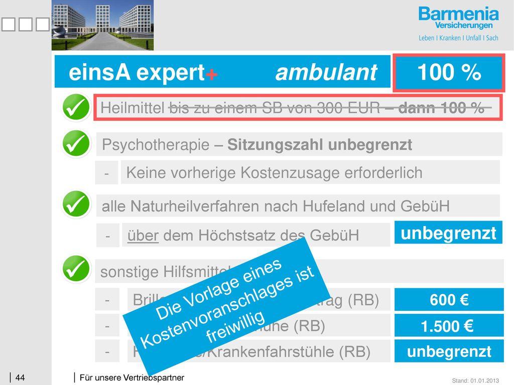 einsA expert+ ambulant