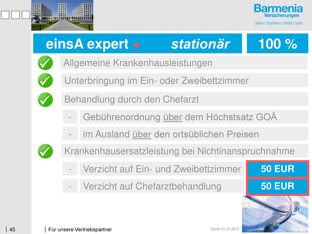 einsA expert + stationär einsA expert stationär