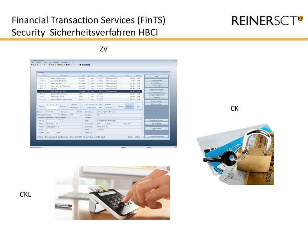 Financial Transaction Services (FinTS)