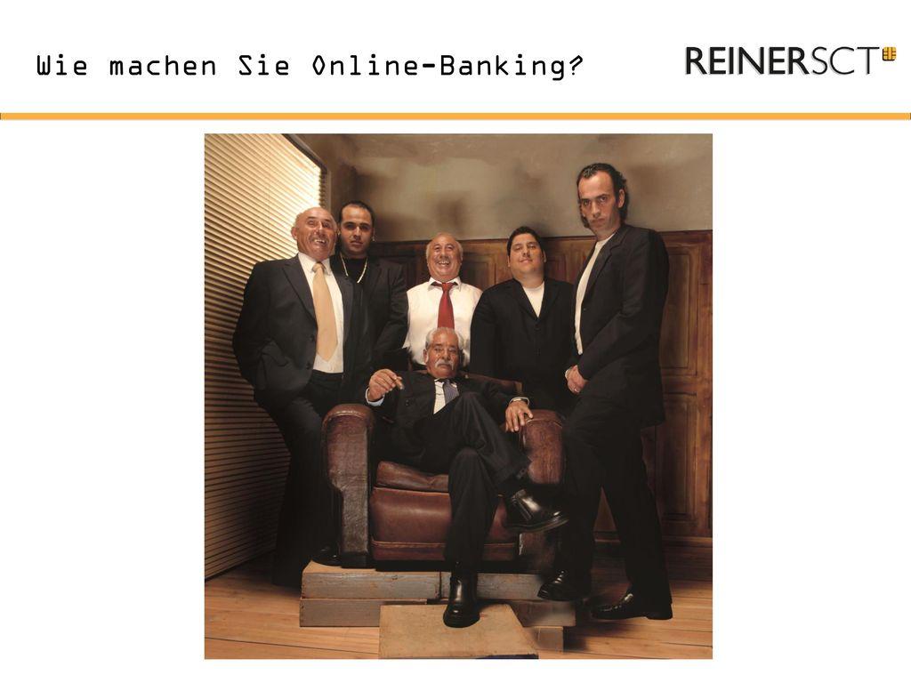 Wie machen Sie Online-Banking