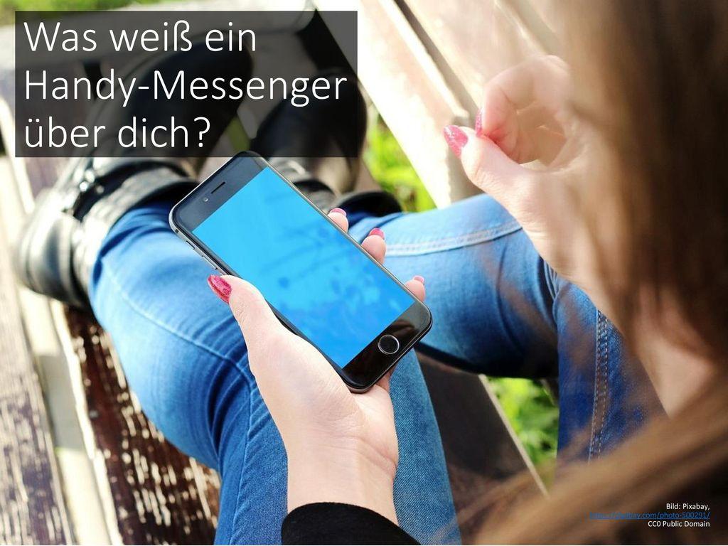 Was weiß ein Handy-Messenger über dich
