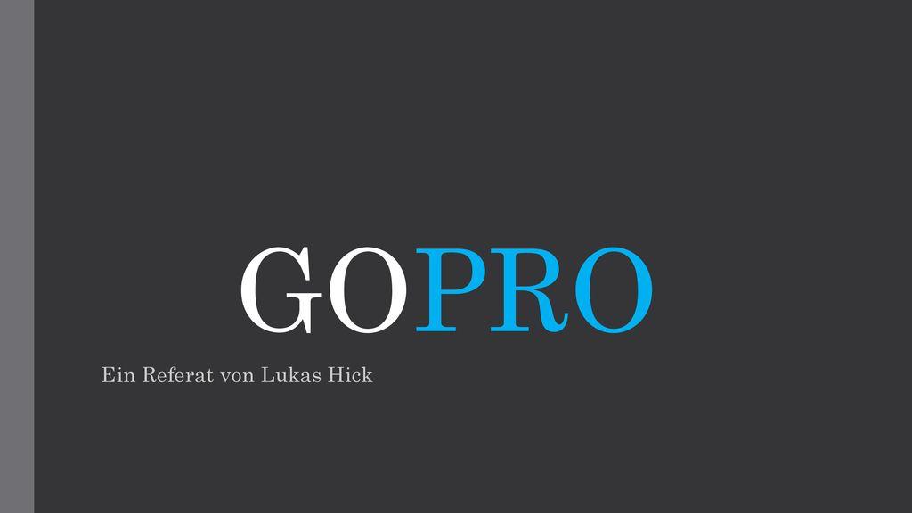 Ein Referat von Lukas Hick