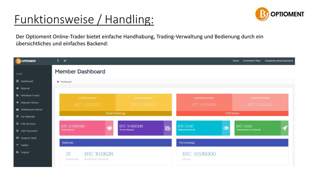 Funktionsweise / Handling: