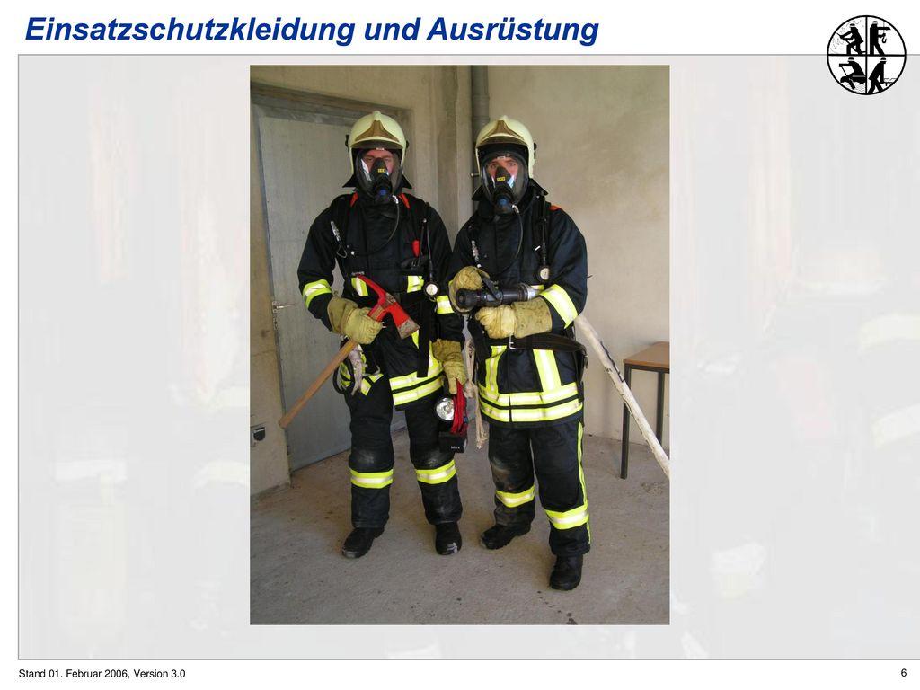 Einsatzschutzkleidung und Ausrüstung
