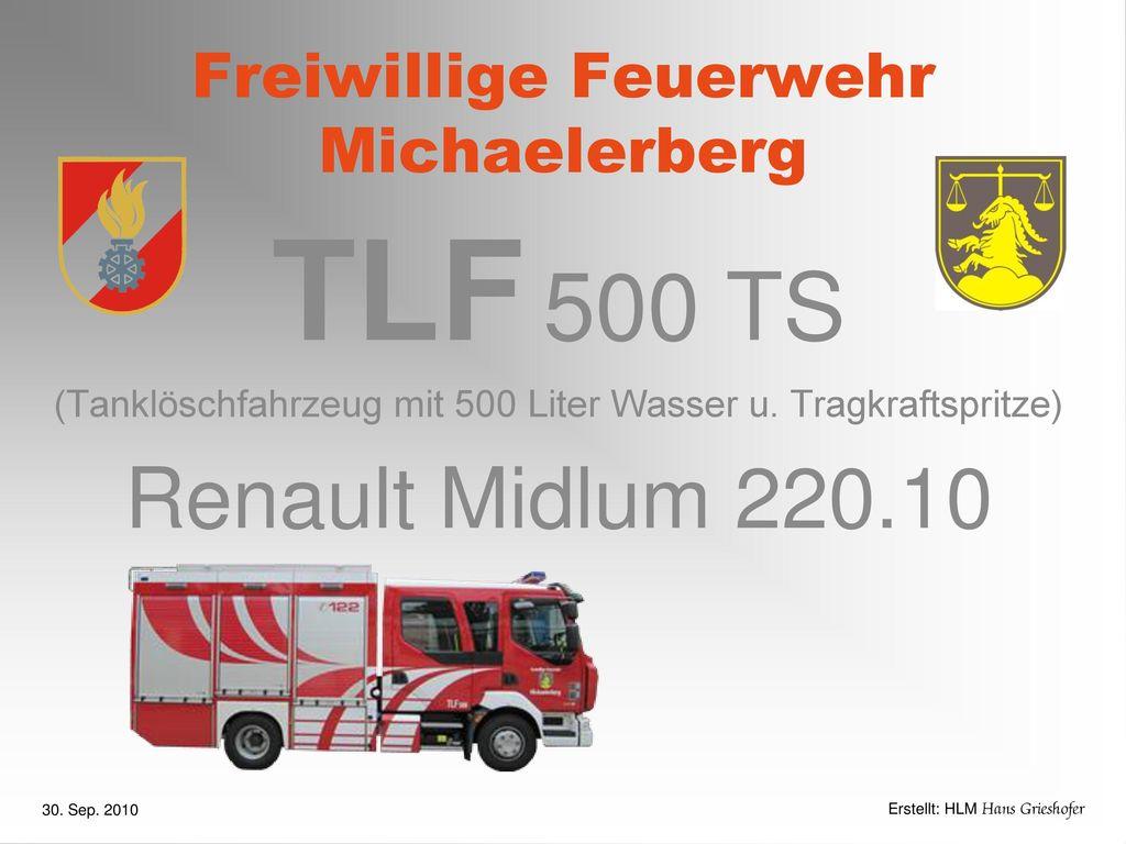 Freiwillige Feuerwehr Michaelerberg