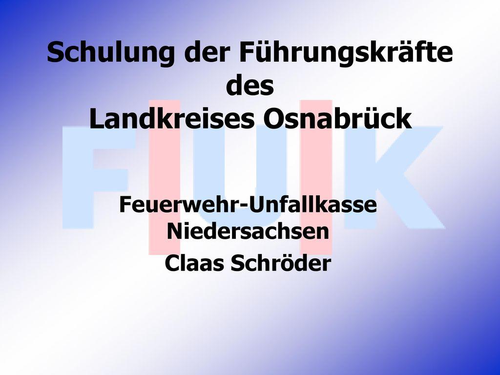 Schulung der Führungskräfte des Landkreises Osnabrück
