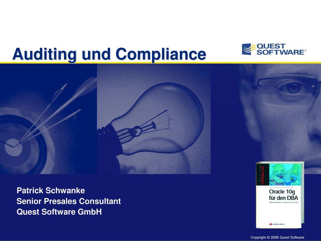 Auditing und Compliance