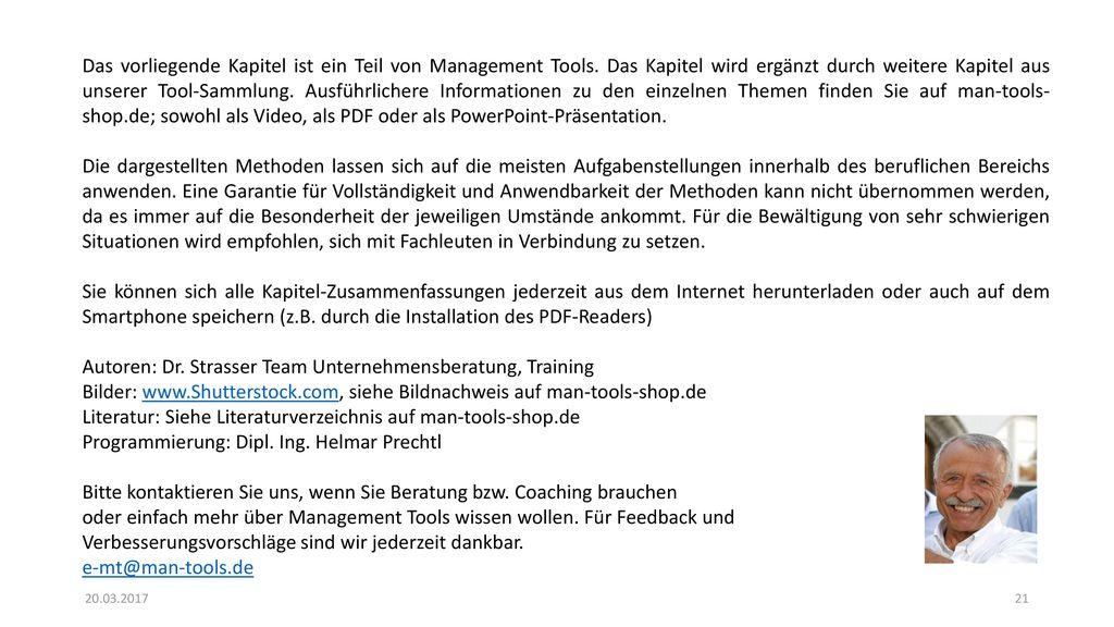 Autoren: Dr. Strasser Team Unternehmensberatung, Training