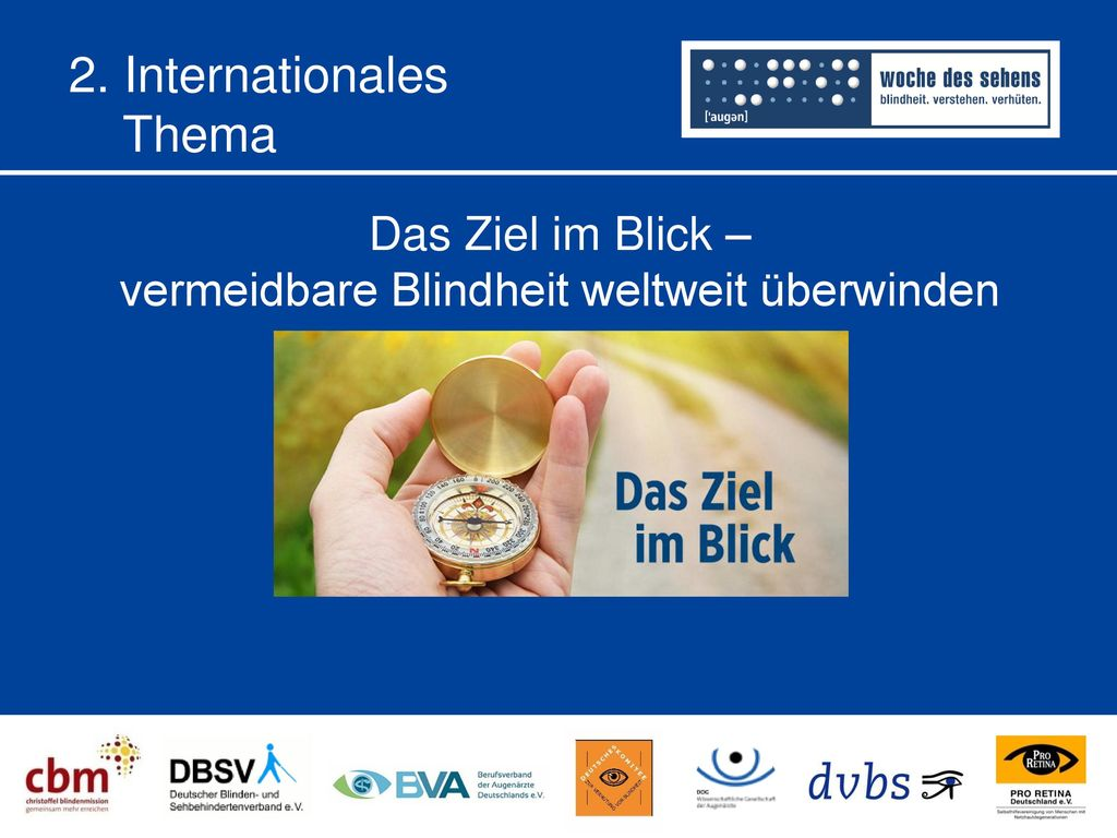 2. Internationales Thema