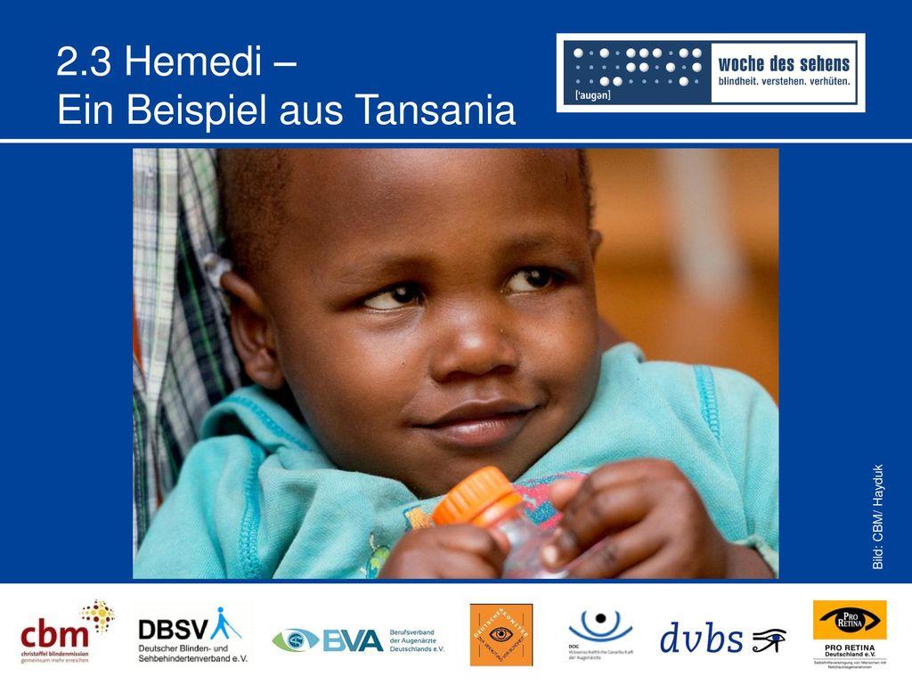 2.3 Hemedi – Ein Beispiel aus Tansania