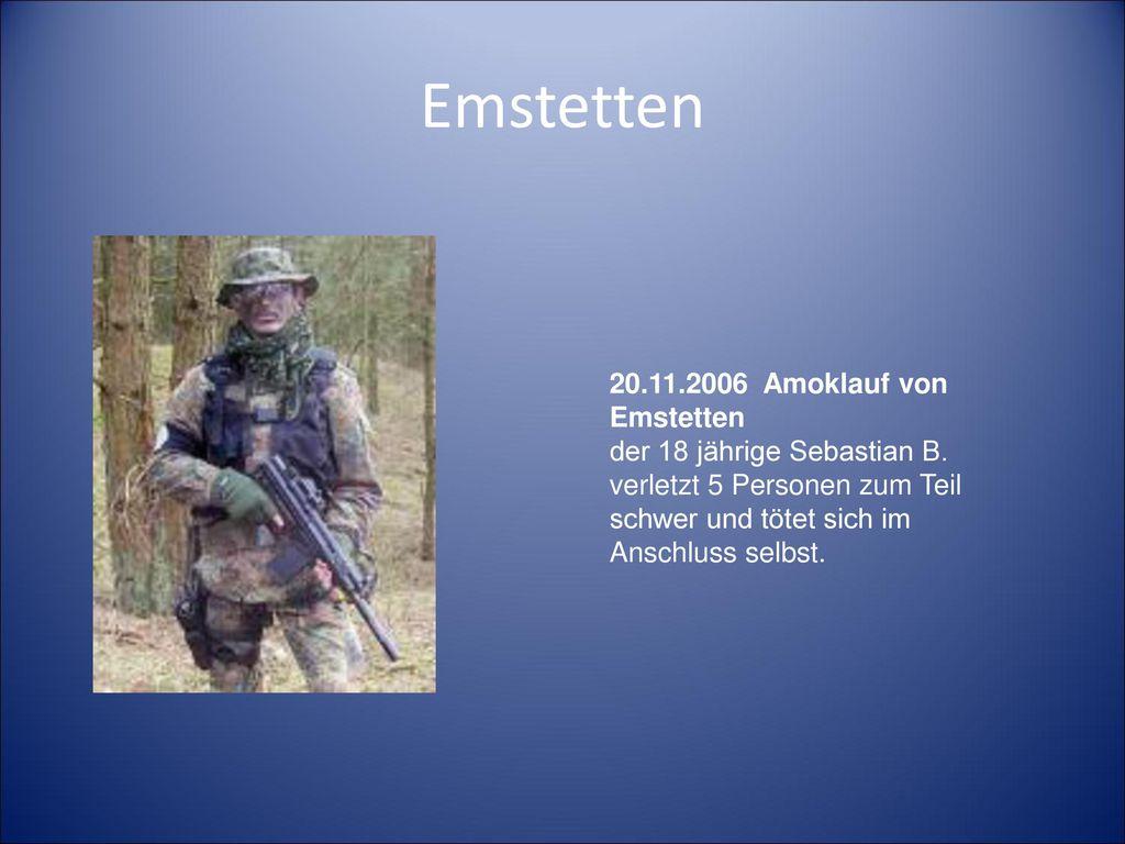 Emstetten 20.11.2006 Amoklauf von Emstetten