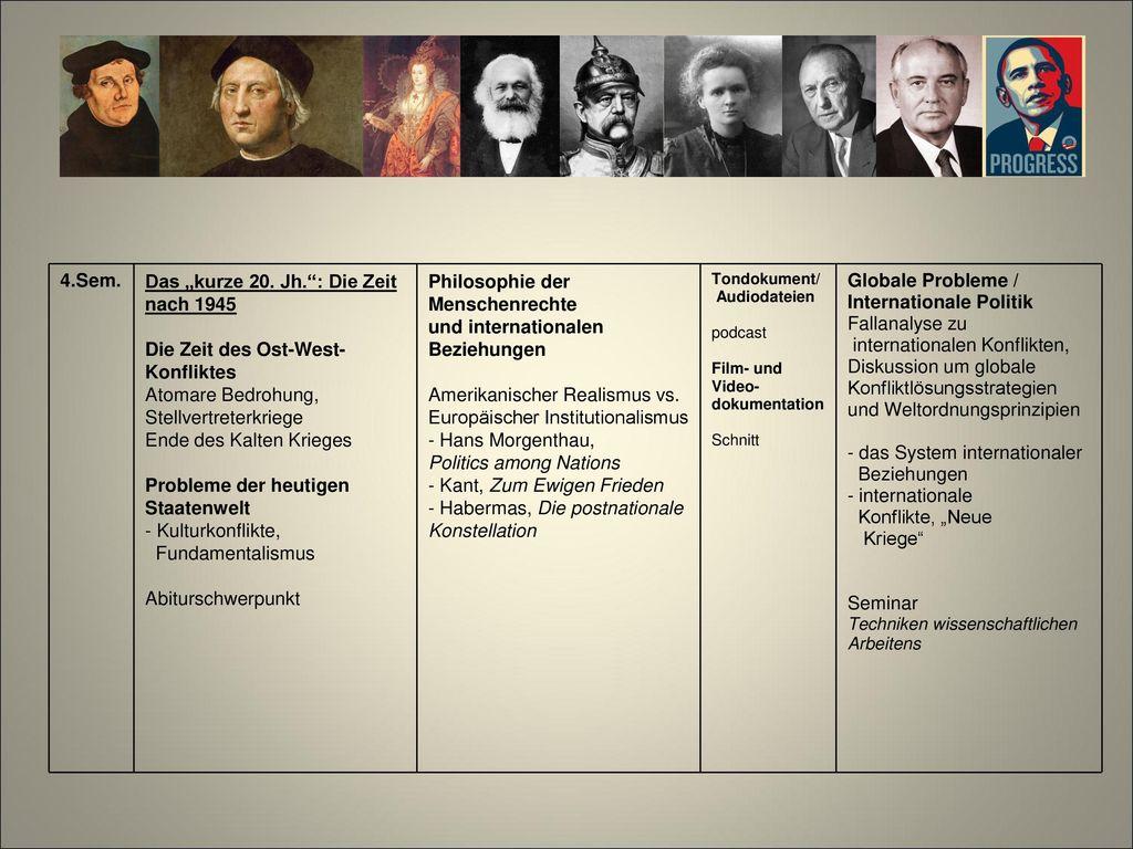 Globale Probleme / Internationale Politik Fallanalyse zu