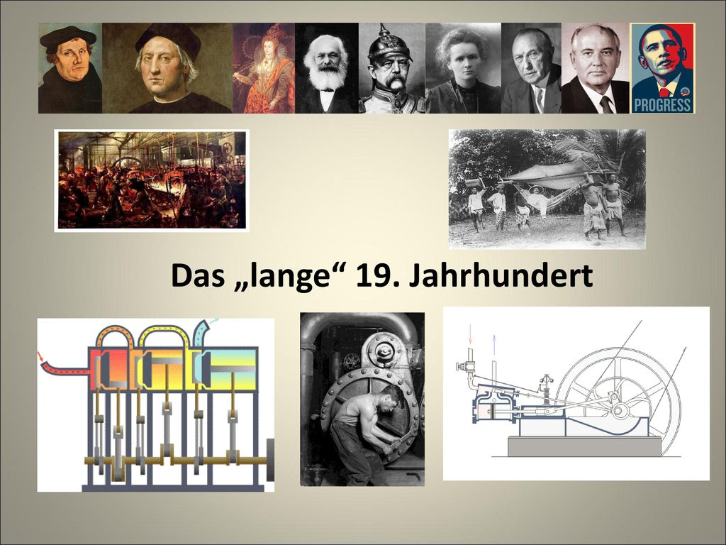 "Das ""lange 19. Jahrhundert"