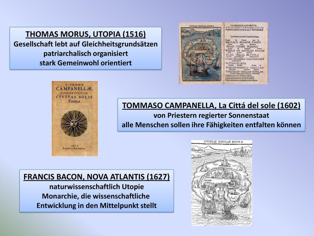 TOMMASO CAMPANELLA, La Cittá del sole (1602)
