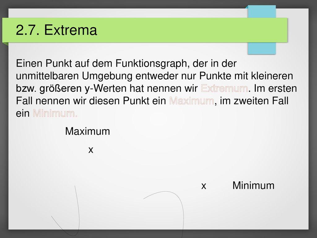2.7. Extrema