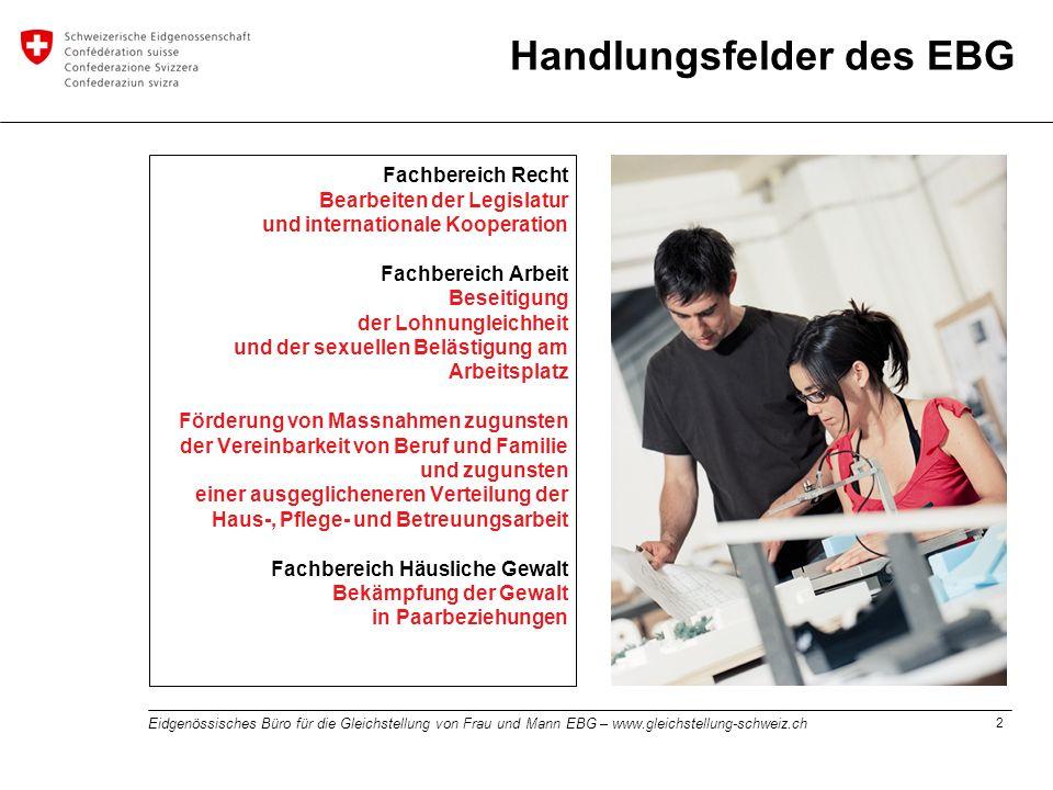 Handlungsfelder des EBG
