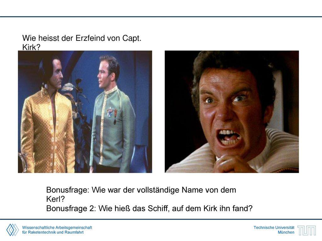 Wie heisst der Erzfeind von Capt. Kirk