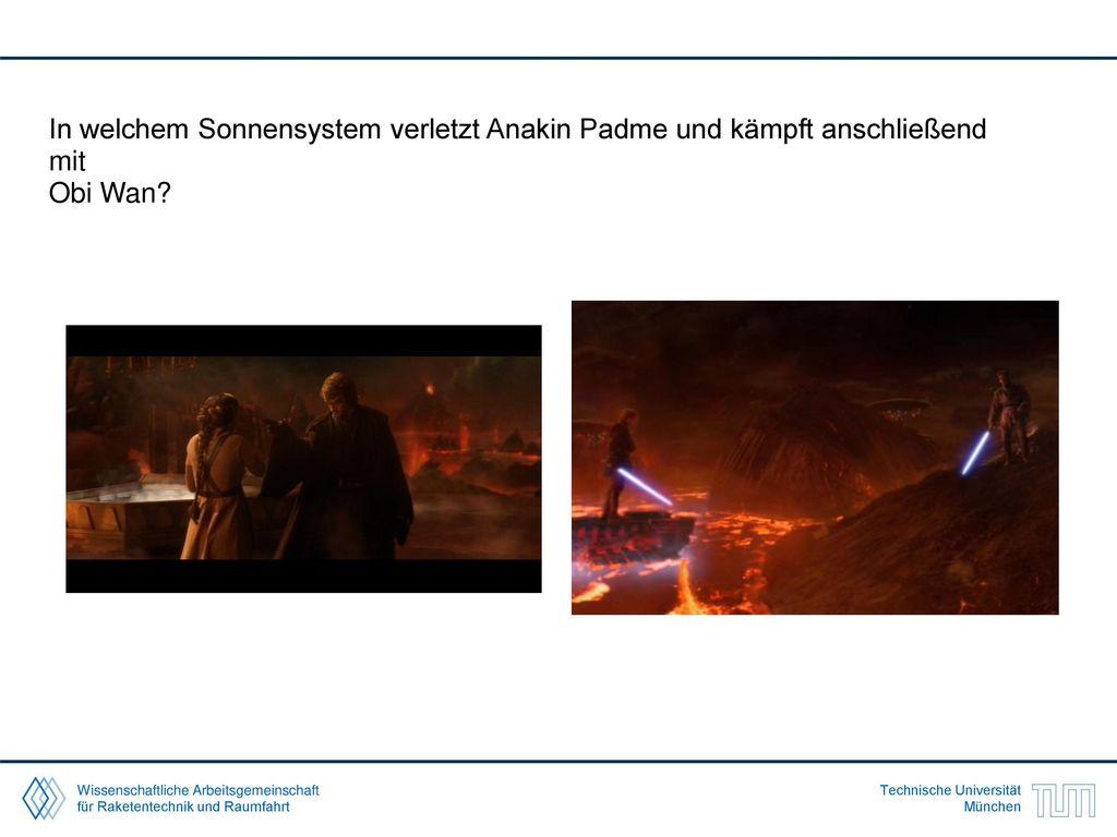 In welchem Sonnensystem verletzt Anakin Padme und kämpft anschließend mit
