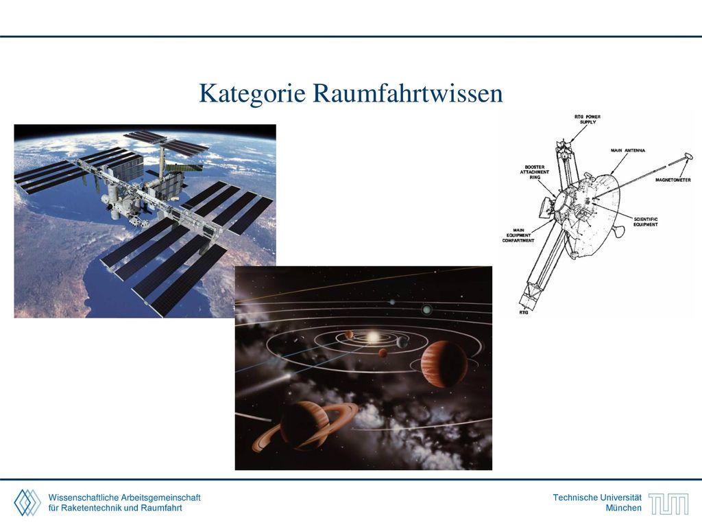 Kategorie Raumfahrtwissen