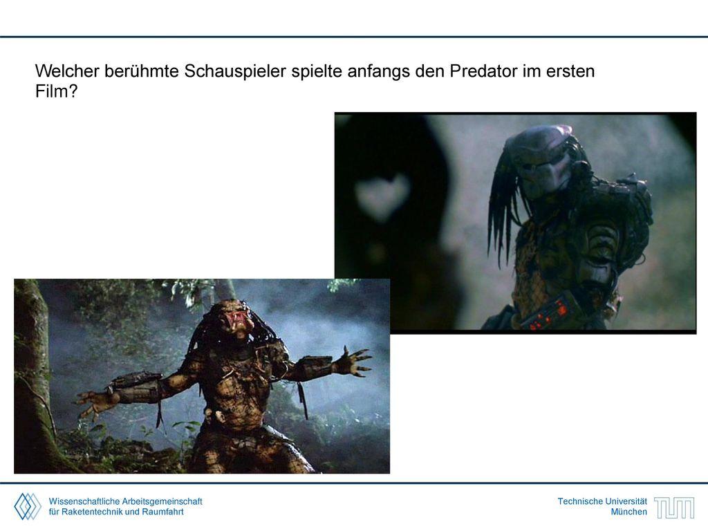 Welcher berühmte Schauspieler spielte anfangs den Predator im ersten Film