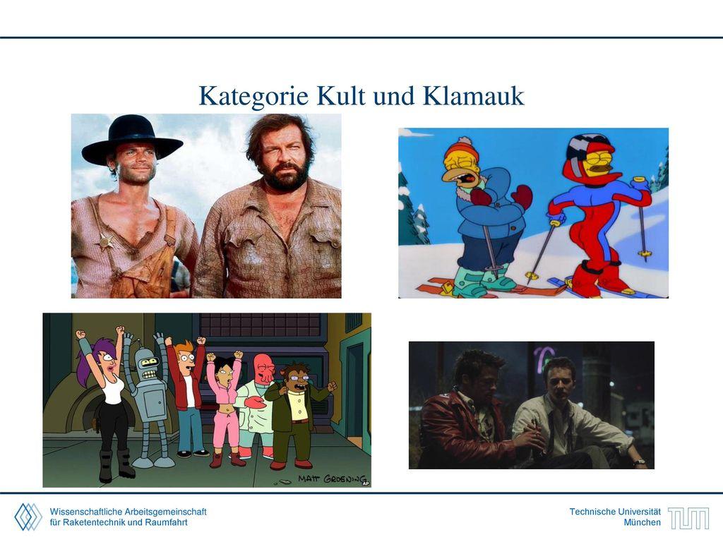 Kategorie Kult und Klamauk