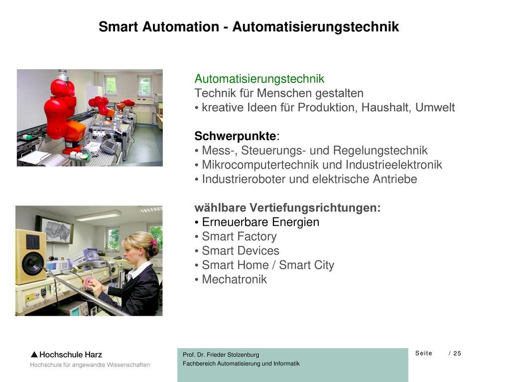Smart Automation - Automatisierungstechnik