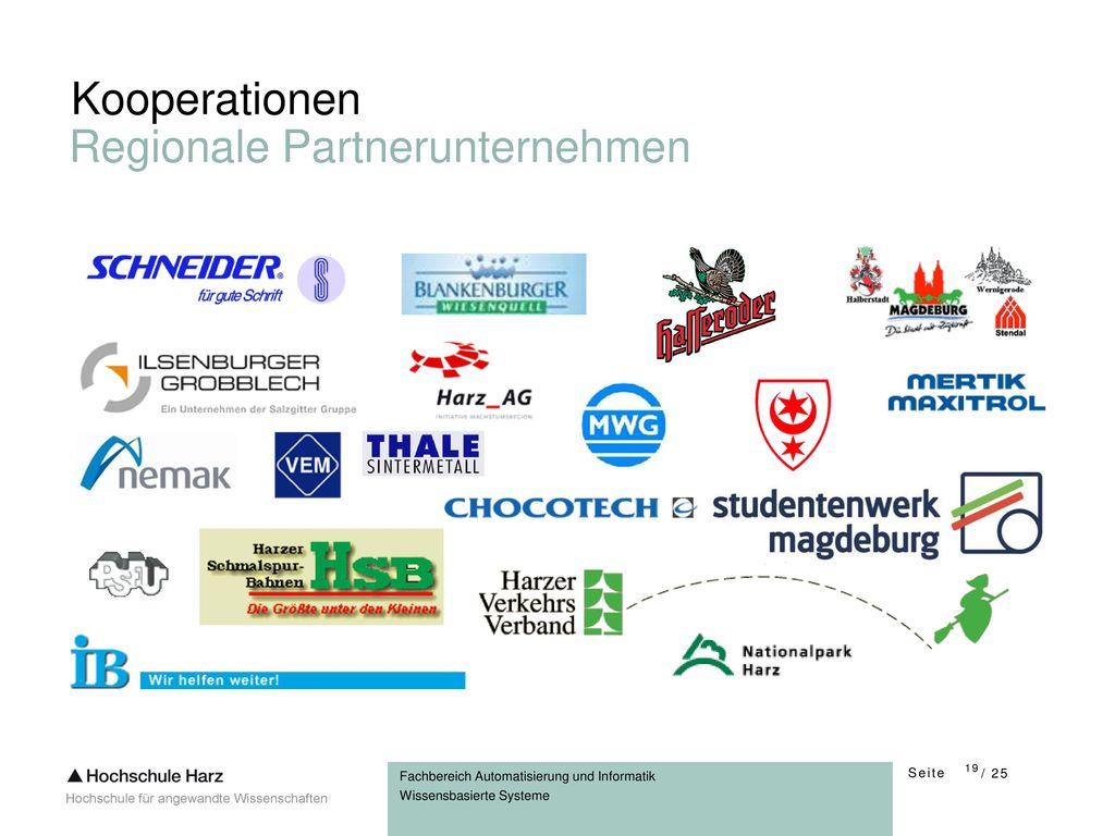 Kooperationen Regionale Partnerunternehmen