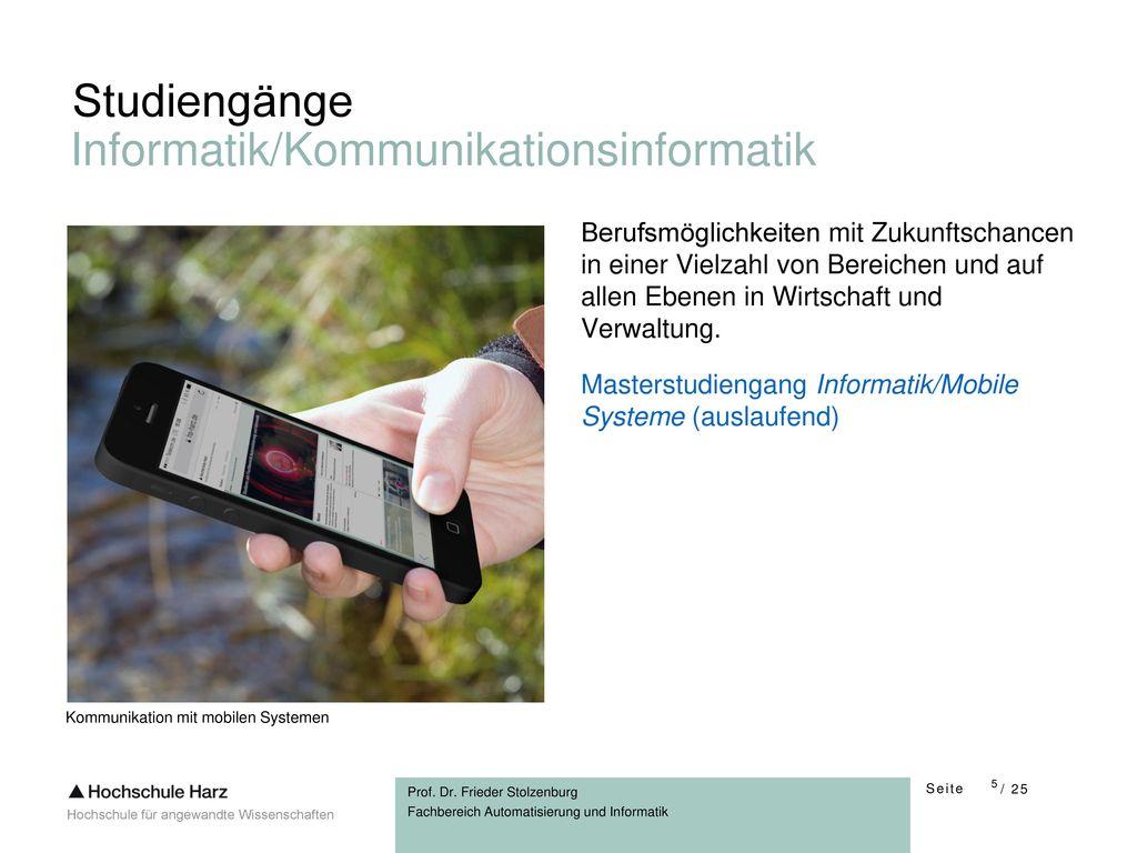 Informatik/Kommunikationsinformatik