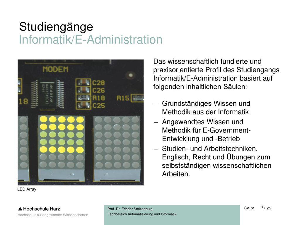 Informatik/E-Administration