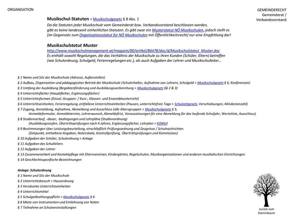 ORGANISATION GEMEINDERECHT. Gemeinderat / Verbandsvorstand.