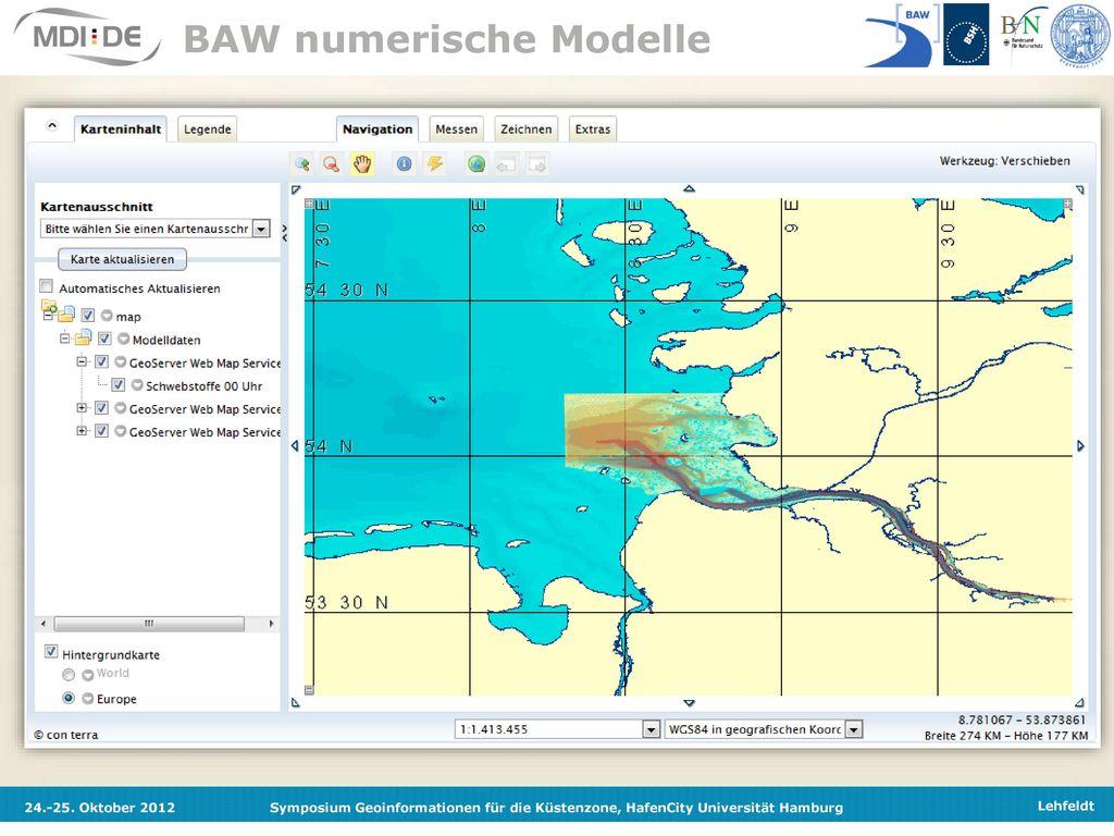 BAW numerische Modelle