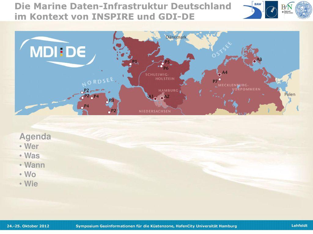 Die Marine Daten-Infrastruktur Deutschland im Kontext von INSPIRE und GDI-DE