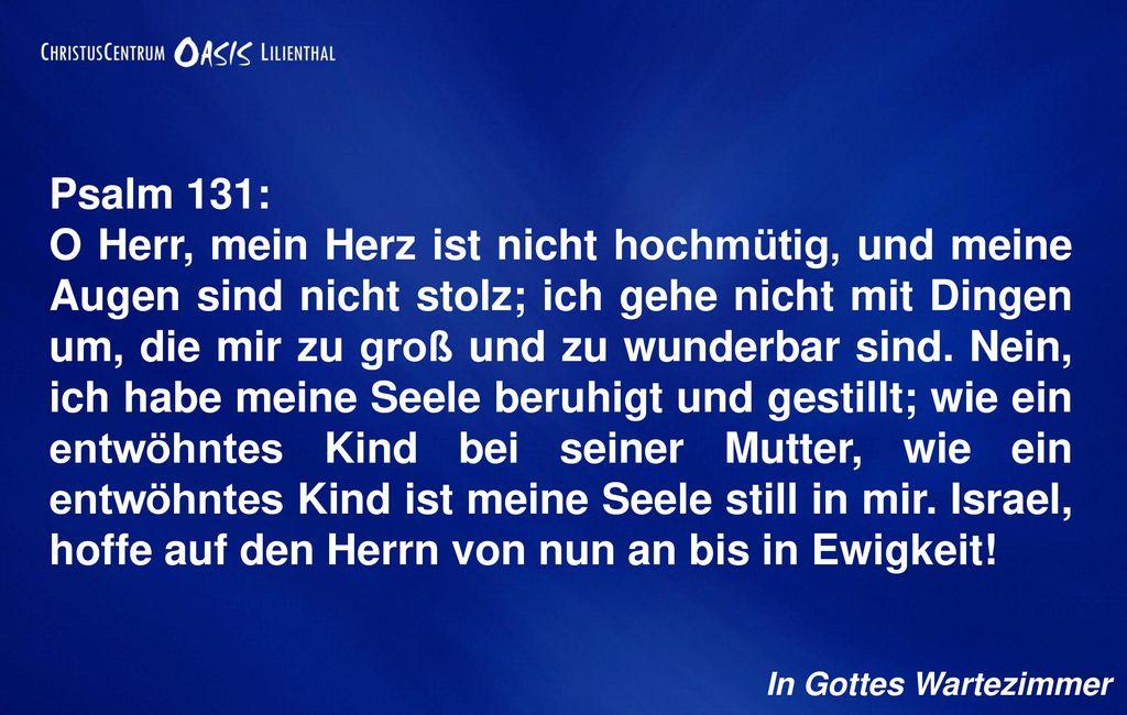 Psalm 131: