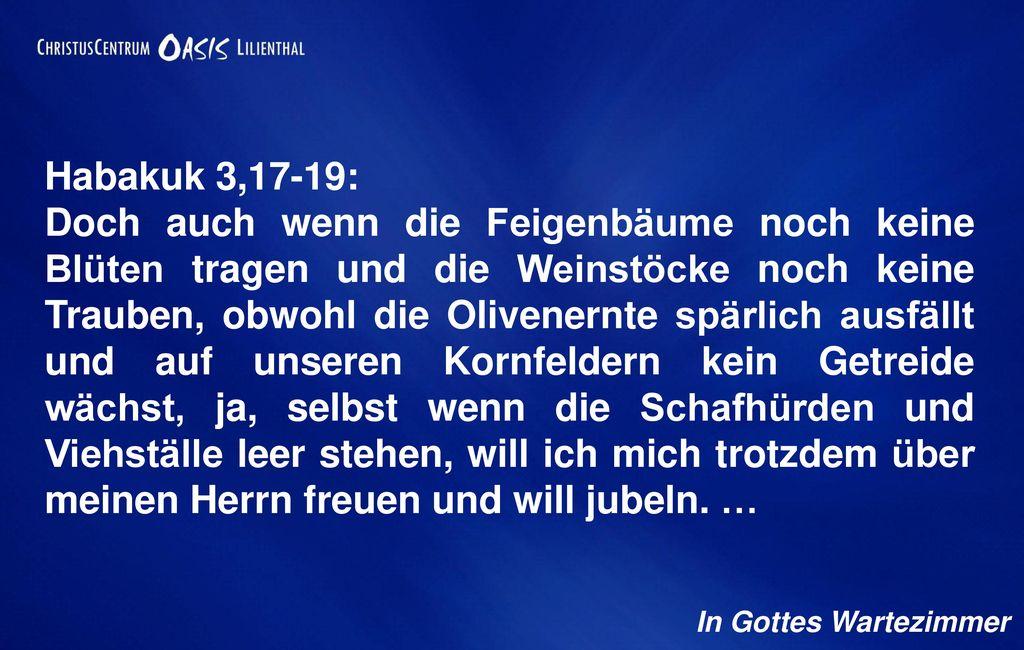 Habakuk 3,17-19: