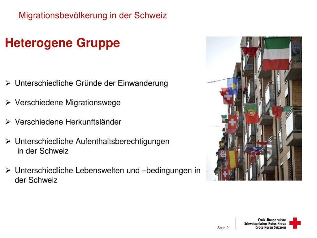 Migrationsbevölkerung in der Schweiz